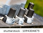 Huge Bolts And Nuts Together I...