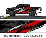 pickup truck livery graphic...   Shutterstock .eps vector #1094315165