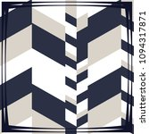 silk scarf with a geometric... | Shutterstock .eps vector #1094317871