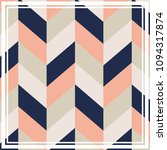 silk scarf with a geometric... | Shutterstock .eps vector #1094317874
