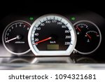 dashboard of the car is in a... | Shutterstock . vector #1094321681