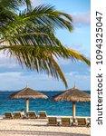 indian ocean maldive beach sun... | Shutterstock . vector #1094325047