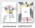 botanical invitation card... | Shutterstock .eps vector #1094331227