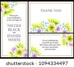 vintage delicate invitation... | Shutterstock . vector #1094334497