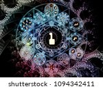 numeric connection series.... | Shutterstock . vector #1094342411