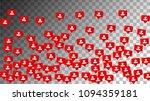 followers icons. social media...   Shutterstock .eps vector #1094359181