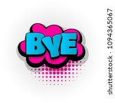 bye hand drawn pictures effects.... | Shutterstock .eps vector #1094365067