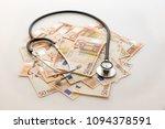 health care spending | Shutterstock . vector #1094378591
