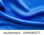 blue color fabric sport... | Shutterstock . vector #1094383277