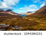 a panoramic view of the remote... | Shutterstock . vector #1094384231