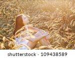 beautiful girl outdoor | Shutterstock . vector #109438589