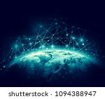 earth from space. best internet ... | Shutterstock . vector #1094388947