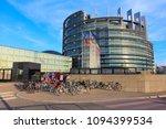 strasbourg  france   august 7 ... | Shutterstock . vector #1094399534