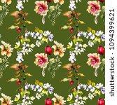seamless wallpaper with... | Shutterstock . vector #1094399621