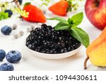 tapioca black pearls. boiled... | Shutterstock . vector #1094430611
