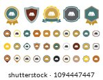 vector skirt  icon | Shutterstock .eps vector #1094447447