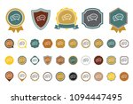 chat bubbles  icon   Shutterstock .eps vector #1094447495