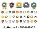 vector binoculars icon | Shutterstock .eps vector #1094447609
