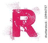 r_atomic_letter   Shutterstock .eps vector #10944757