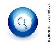 search magnifyier web button ...