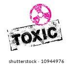toxic_grunge_stamp | Shutterstock .eps vector #10944976