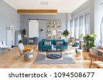elegant fashionable interior of ... | Shutterstock . vector #1094508677