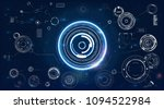 hud. design element. abstract... | Shutterstock .eps vector #1094522984