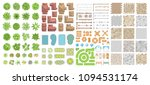 set of landscape elements.... | Shutterstock .eps vector #1094531174