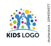 dream kids logo | Shutterstock .eps vector #1094554577
