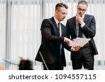 business documents review. man... | Shutterstock . vector #1094557115