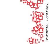 social media marketing...   Shutterstock .eps vector #1094559599