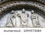 3 religious figures on the top... | Shutterstock . vector #1094573084