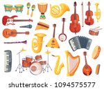 cartoon classical jazz musical... | Shutterstock .eps vector #1094575577