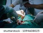 close up medical team of... | Shutterstock . vector #1094608025