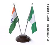 india and nigeria  two table... | Shutterstock . vector #1094610551