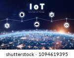 internet of things technology... | Shutterstock . vector #1094619395