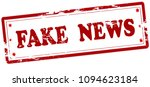 rubber stamp with text fake... | Shutterstock .eps vector #1094623184