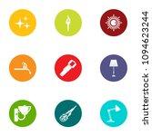 home furnishings icons set.... | Shutterstock .eps vector #1094623244