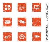 portable telephone icons set....   Shutterstock .eps vector #1094624624