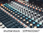 buttons and knob switches of... | Shutterstock . vector #1094632667