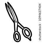 Scissors   Cartoon Vector And...