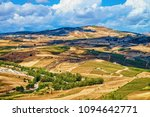 landscape and road in segesta... | Shutterstock . vector #1094642771