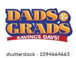 dads   grads savings vector... | Shutterstock .eps vector #1094664665
