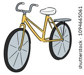 vector of bicycle | Shutterstock .eps vector #1094665061