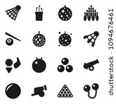 set of simple vector isolated... | Shutterstock .eps vector #1094676461
