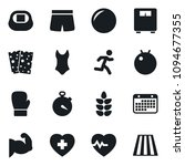 set of simple vector isolated... | Shutterstock .eps vector #1094677355