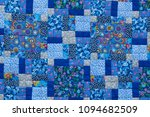 made by hand from colored cloth ... | Shutterstock . vector #1094682509