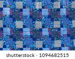 made by hand from colored cloth ... | Shutterstock . vector #1094682515