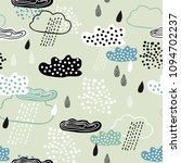 abstract seamless pattern of... | Shutterstock .eps vector #1094702237