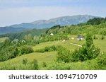 beautiful rural summer...   Shutterstock . vector #1094710709